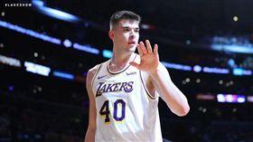 NBA/湖人3將砍20+ 主場射日 NBA,洛杉磯湖人,Ivica Zubac 翻攝自湖人官方推特