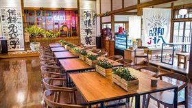 嘉義市定古蹟史蹟資料館 委外經營文創餐廳興建於日治昭和18年(西元1943年)的嘉義市史蹟資料館,27日起委外經營「昭和J18」文創餐廳,建築內部充滿濃濃東洋風情。中央社記者江俊亮攝 108年1月27日