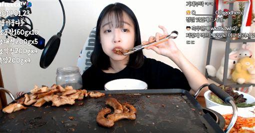 網紅,正妹,食材,南韓,大胃王 https://www.youtube.com/watch?v=KDbERsPKafM
