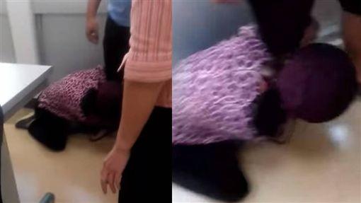 台中女兒遭撞命危,單親媽下跪求肇事者可憐可憐她們/臉書爆料公社