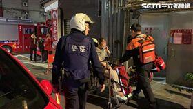 台北市,大安區,火警,麻油雞,起火,濃煙,嗆傷,記者呂品逸攝