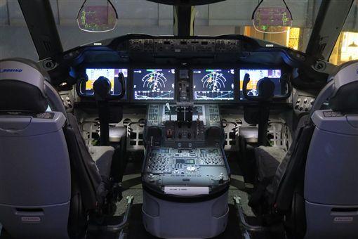 波音787展示館。