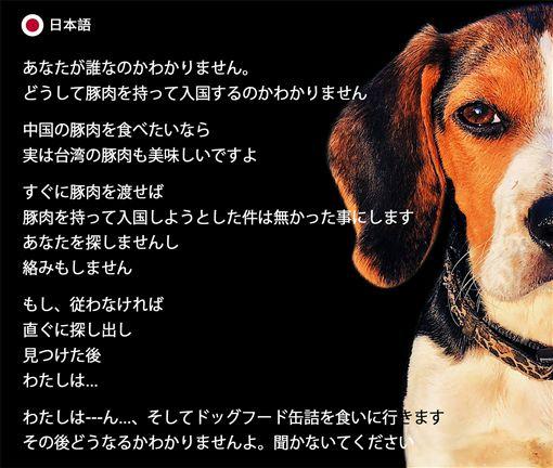 內政部臉書粉絲團「內政大小事—內政部」28日貼出多國語言「防疫犬會找到你」圖片。(圖/翻攝「內政大小事—內政部」臉書)