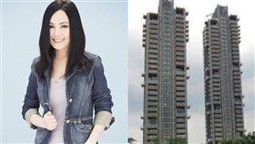 江蕙砸下4億多新台幣買下位於大安區的豪宅。(圖/翻攝自臉書)
