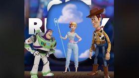 玩具總動員4(圖/「Toy Story」臉書)