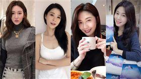 李燕,曾莞婷,韓瑜,白家綺(圖/臉書,ig)
