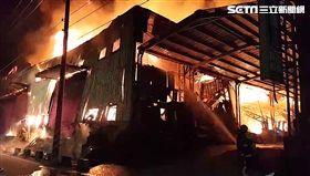 工廠,火警,縱火,台北,翻攝畫面