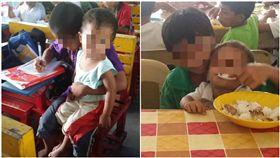 母親早逝 9歲童 隨身帶弟弟上學(圖/翻攝自Shyla Mie Brillantes Blasico臉書)