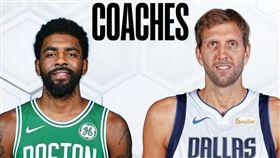 NBA/老司機帶路!新秀賽陣容堅強 NBA,2019全明星,新秀挑戰賽,Kyrie Irving,Dirk Nowitzki,Luka Doncic 翻攝自NBA官方推特