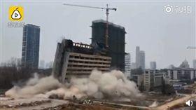 (圖/翻攝自梨視頻)中國,安徽,炸母校,爆破,理工大學