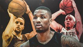 NBA/里拉德:我會擊敗柯瑞兄弟 NBA,三分球大賽,Stephen Curry,Seth Curry,Damian Lillard 翻攝自推特ClutchPoints