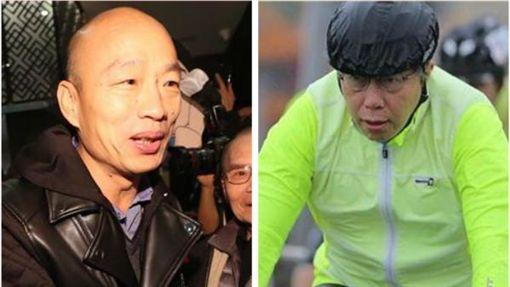 柯文哲,韓國瑜 合成圖/中央社、臉書