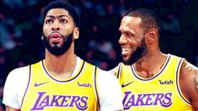 NBA/暗示?詹皇:暴風雨前的寧靜 NBA,洛杉磯湖人,LeBron James,Anthony Davis 翻攝自推特
