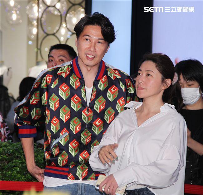 賀歲片「大三元」演員Ella陳嘉樺老公賴斯翔。(記者邱榮吉/攝影)