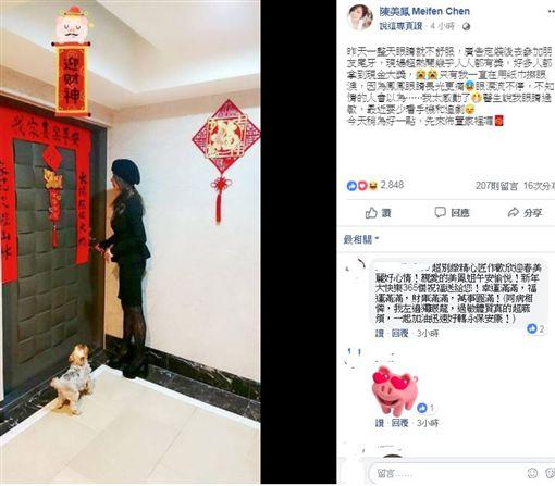 陳美鳳(圖/臉書)