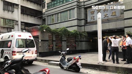 台北市八德路母女上吊自殺現場(翻攝畫面)