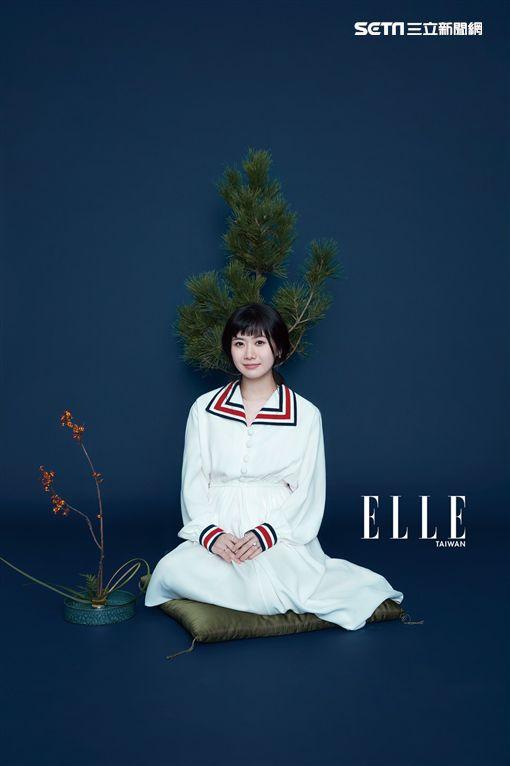 江宏傑、福原愛/ELLE提供