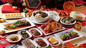 台中林酒店年菜、圍爐/台中林酒店提供
