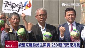 德克士、大陸全家採購台灣美生菜120公噸 魏應充扮推手