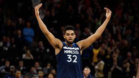 NBA/唐斯哭了!明星賽替補公布 NBA,2019全明星,明尼蘇達灰狼,Karl-Anthony Towns 翻攝自推特
