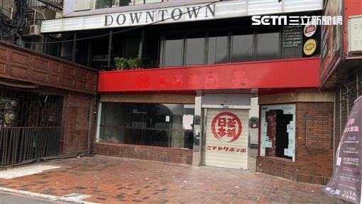 在SOGO旁的日藥本舖營業一年撤了。(圖/記者蔡佩蓉攝影)