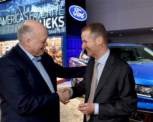 ▲Ford和VW宣布全球合作計畫(圖/車訊網)