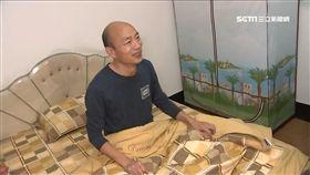 高雄市長韓國瑜上任首日 夜宿果菜市場