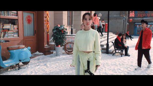 蔡依林《新年抖來咪》MV。(圖/翻攝自《新年抖來咪》MV)