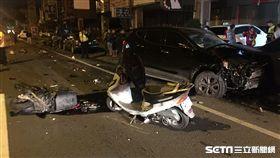 被吊銷駕照又酒駕!男逆向連環撞8車 撞死2人無緣過年(台中 直接用就可