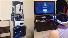 老婆,生日禮物,PS4,PSVR,組合包,爆廢公社 圖/翻攝自臉書爆廢公社