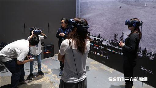 30周年特展VR展區。(圖/記者王怡翔攝影)