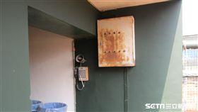 ▲彭政閔曾經重擊嘉義太保球場三壘側變電箱。(圖/記者蕭保祥攝影)