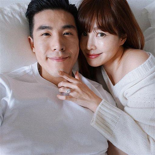 廖曉喬,孫芸芸,結婚,微風/翻攝自廖曉喬IG