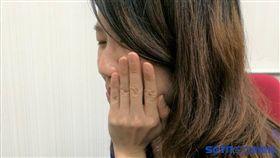牙痛,嘴破(示意圖/記者楊晴雯攝)