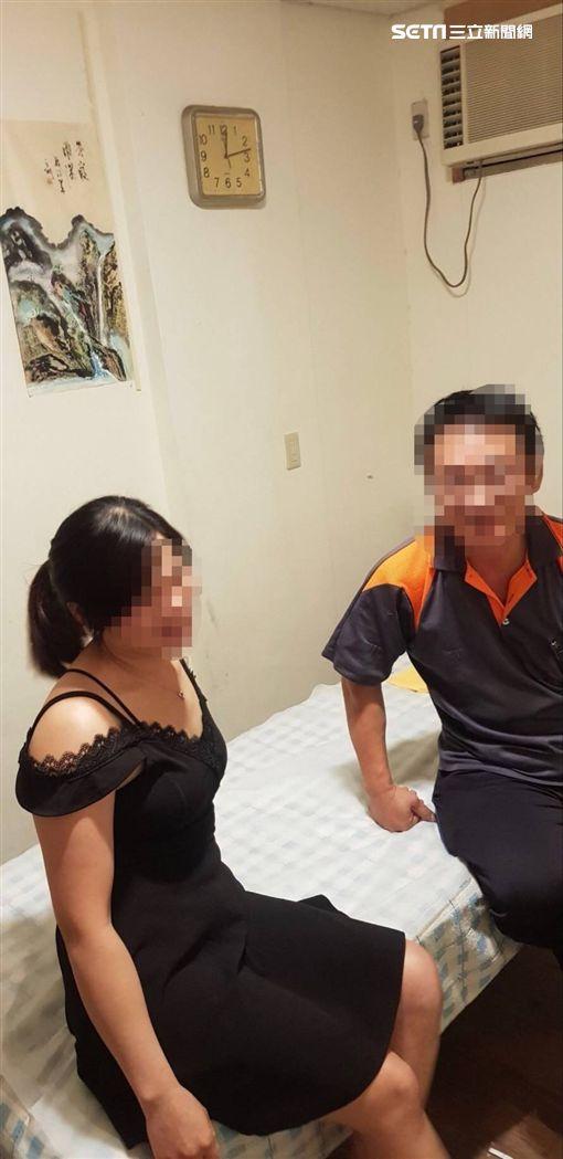 萬華分局查獲34名私娼(翻攝畫面)