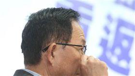 丁守中仍聲請法院驗票(1)國民黨台北市長候選人丁守中以3254票敗選,原本向法院聲請重新驗票,但後又撤銷。丁守中(圖)28日召開記者會表示,仍會聲請由法院驗票,再依驗票結果提當選或選舉無效訴訟,且不接受黨內資助。中央社記者郭日曉攝  107年11月28日