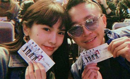 楊丞琳朝聖Mr.Children台北演唱會。(圖/翻攝自楊丞琳IG)