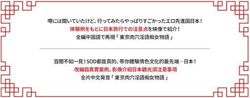 SOD神作!7女優啪啪啪都說中文。(圖/翻攝自SOD官網)