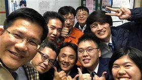 林佳龍,台鐵,七堵 圖/翻攝自林佳龍臉書