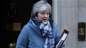 英國首相梅依,圖/美聯社/達志影像