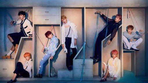 韓團防彈少年團(BTS)。(圖/翻攝自BTS official IG)