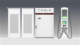 ▲Tesla電能儲存設備。(圖/翻攝網站)