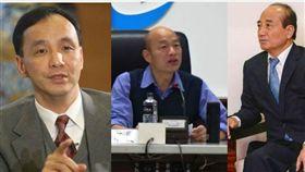 2020 柯文哲、韓國瑜、朱立倫、王金平(圖/翻攝自臉書)