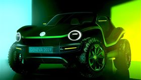 ▲Volkswagen電動沙灘概念車。(圖/翻攝網站)