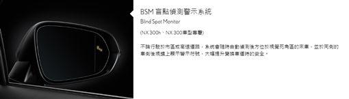 Lexus BSM盲點偵測警示系統▲(圖/翻攝網路)