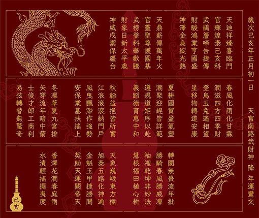 北港武德宮,扶鸞出籤詩,國運籤,兩岸關係 圖/武德宮臉書