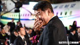 華信航空ATR機隊成軍,中華航空董事長何煖軒。 圖/記者林敬旻攝 圖/記者林敬旻攝