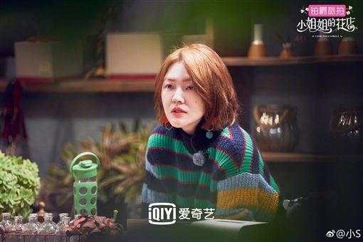 小S在陸綜《小姐姐的花店》透露她最想感謝的人就是婆婆。(圖/翻攝自微博)