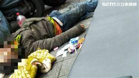 台北,大同區,華陰街,遊民,命案(圖/翻攝畫面)