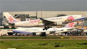 華航,罷工,航線,中國,機師,過勞 圖/翻攝自Taiwan Aviation Spotters臉書